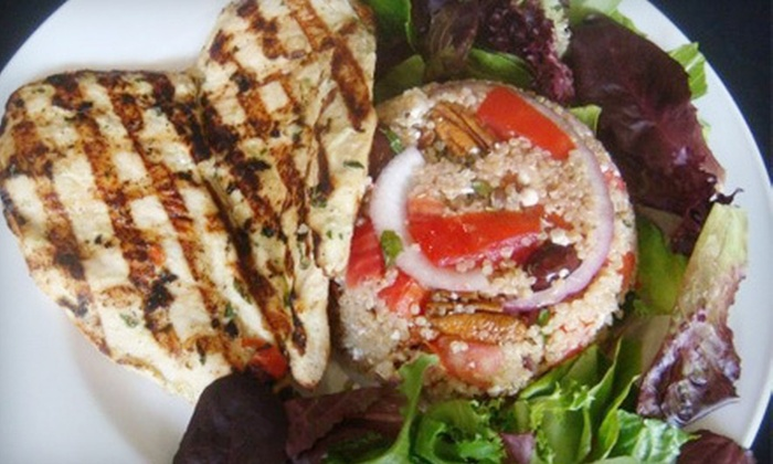 Julio's Natural Foods Restaurant - Ojus: Healthy Food at Julio's Natural Foods Restaurant (Half Off). Two Options Available.
