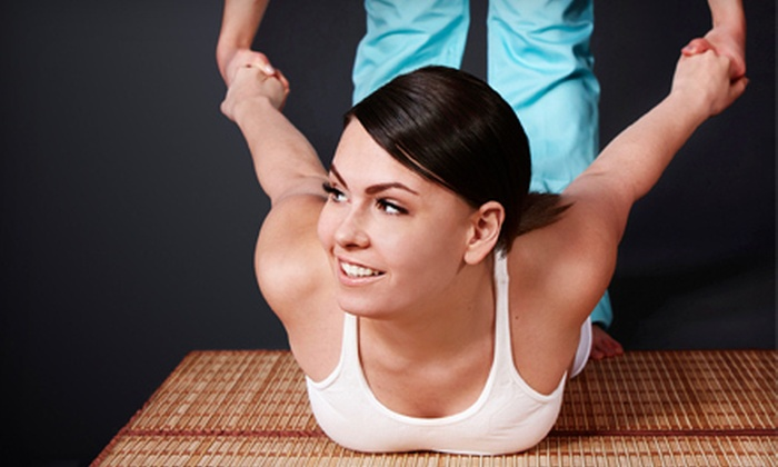 Thai Yoga with Suzy - Hoover: One or Three Thai Yoga Massages at Thai Yoga with Suzy (Up to 54% Off)