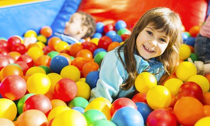 Two-Hour Play Centre Entry for One, Two or Four at Sqoshis Play Centre