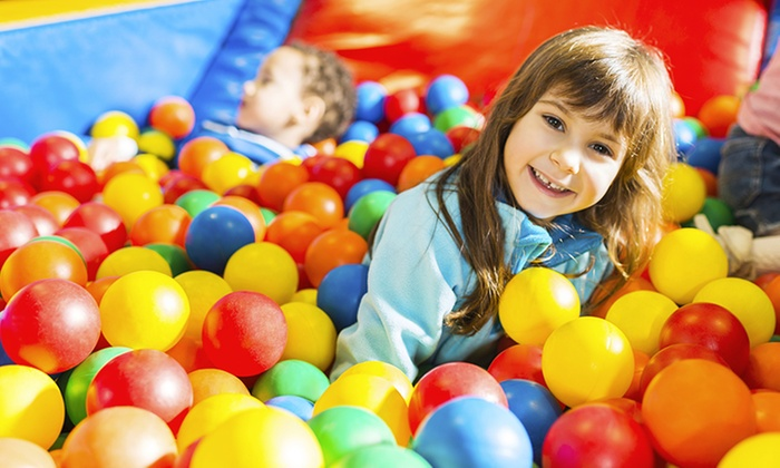 Sqoshis Play Centre - Clipstone Village: Two-Hour Play Centre Entry for One, Two or Four at Sqoshis Play Centre