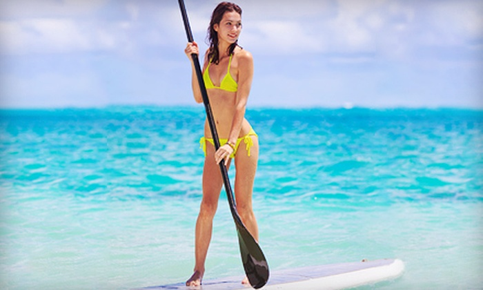Paddle Sport Performance - Multiple Locations: Stand-Up-Paddleboard Class for One, Two, or Four with Equipment from Paddle Sport Performance (Up to 66% Off)