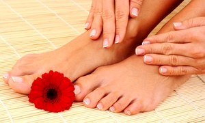 Tippie Toes: One or Two Mani-Pedis at Tippie Toes (Up to 47% Off)