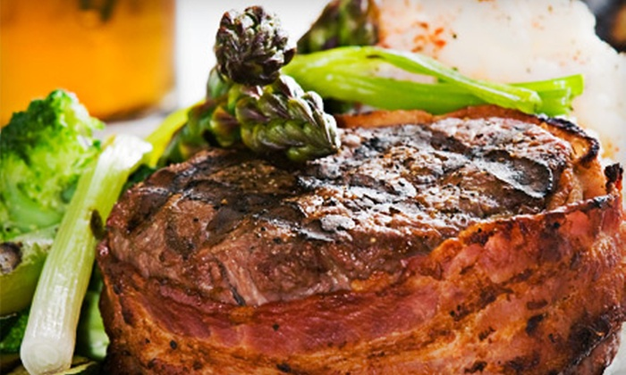Phoenix Grille Downtown - Winston-Salem: Steak-House and Southern Lunch or Dinner for Two at Phoenix Grille Downtown (Up to 45% Off)