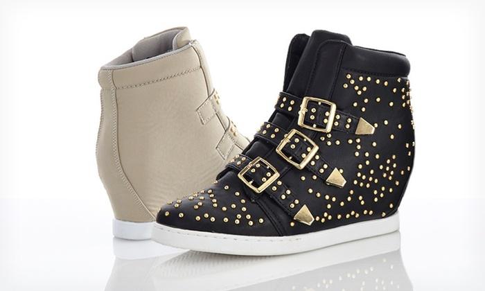 Bucco Wedge Sneakers | Groupon Goods