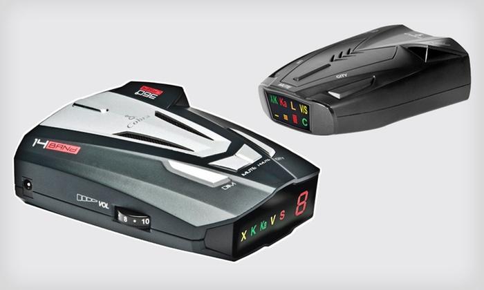 Cobra Radar Detectors: Cobra SSR 80 or XRS 9370 Radar/Laser Detector (Half Off). Free Shipping and Returns.