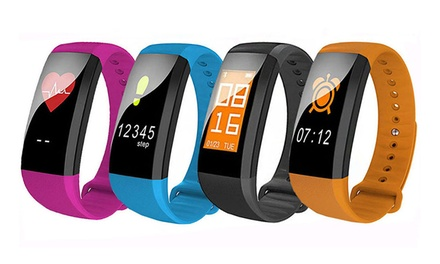EOFYS: Colour Touch Screen Activity Tracker with Heart Rate and Blood Pressure: One ($39.95) or Two ($74.95)