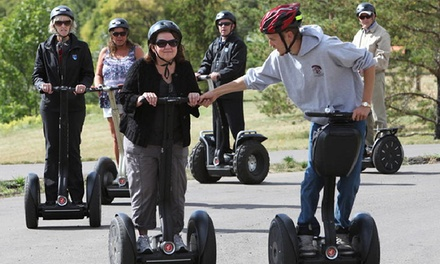 River Valley Segway Tour from River Valley Adventure Co. and Segway Edmonton (Up to 46% Off). Two Options.