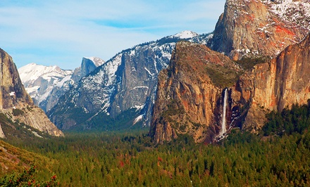 groupon daily deal - 2- or 3-Night Stay for Up to Eight at Yosemite's Enchanted Forest in Yosemite National Park. Combine Up to 6 Nights.