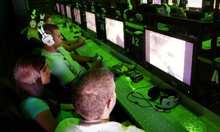 TH3 arcade - Summerfields: All-Day Gaming for Two or Four at TH3 arcade (Up to 56% Off)