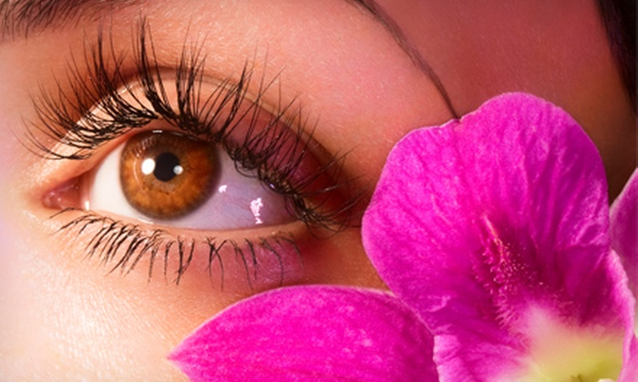 Riska Crowder - Deep Ellum: Faux Mink or Human Hair Eyelash Extensions from Riska Crowder (Up to 60% Off)