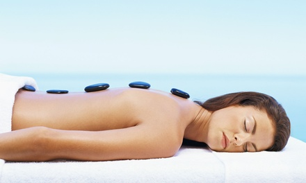 One or Two 60-Minute Hot-Stone Massages at Indulge into Bliss Day Spa (Up to 46% Off)