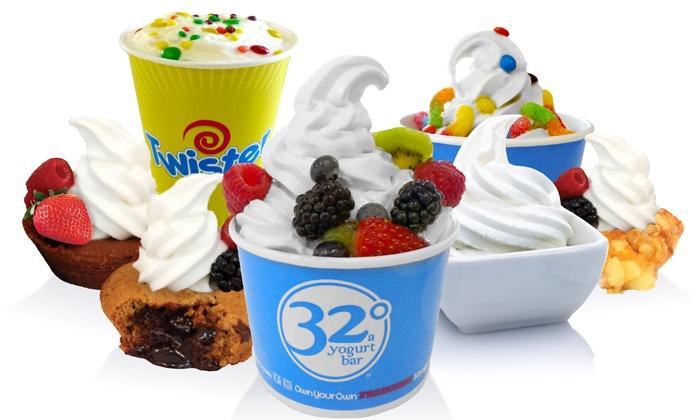 32 Degrees A Yogurt Bar - East Louisville: $11 for $20 Gift Card for Frozen Yogurt at 32 Degrees A Yogurt Bar