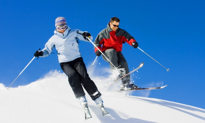 Swain Resort - Swain: First Turns, Second Turns, or Triple Down Skiing or Snowboarding Packages at Swain Resort (Up to 50% Off)