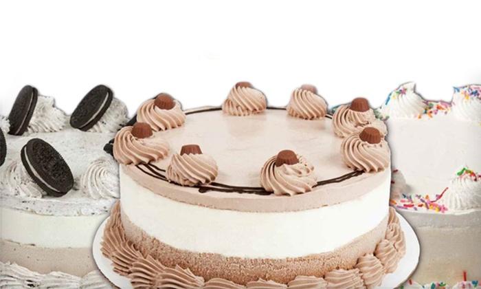 """Menchie's Frozen Yogurt - Woodbridge: 8"""" or 10"""" Frozen Yogurt Cake at Menchie's Frozen Yogurt (Up to 36% Off)"""