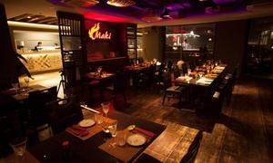 Maki: Menu giapponese con sushi e barbecue Kobe e Black Angus direttamente al tavolo da Maki (sconto fino a 78%)