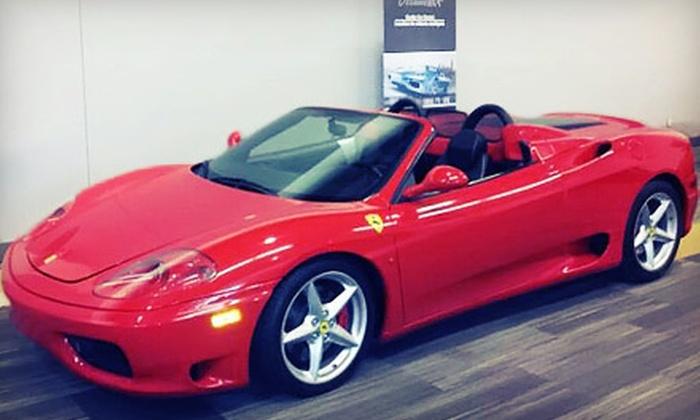 Ottawa ECR Inc. - Ottawa: $149 for 30-Minute Ferrari Test-Drive Experience from Ottawa ECR Inc. ($299 Value)