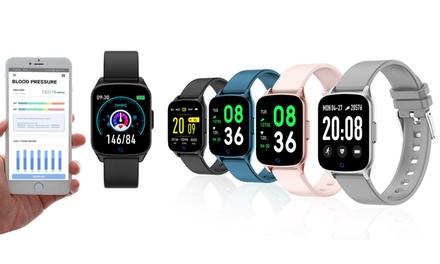 Reloj inteligente versátil compatible con Android e iOS