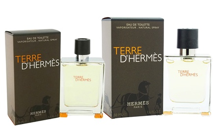 Terre D'Hermès Eau de Toilette for Men; 1.6 or 3.3 Fl. Oz.