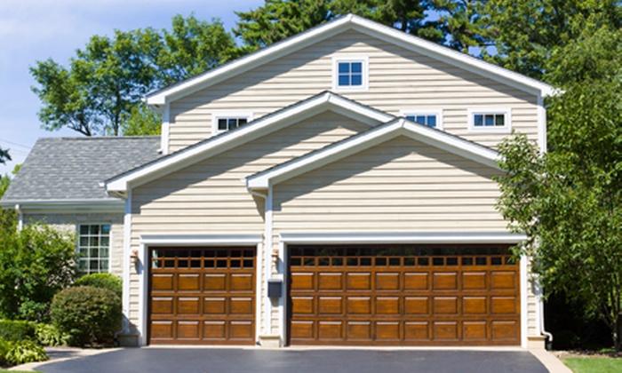 Vantage Garage Doors - Las Vegas: Garage-Door Tune-Up with Nylon Roller or Ball-Bearing Replacement from Vantage Garage Doors (Up to 51% Off)
