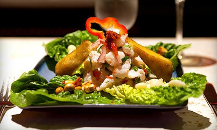 La Furia Chalaca - Produce and Waterfront: $15 for $30 Worth of Peruvian Cuisine at La Furia Chalaca