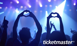 Ticketmaster: £10 e-Gift Card to Spend on Ticketmaster (50% Off)