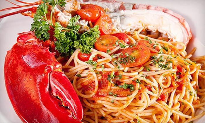 Casa Mia Trattoria Pizzeria - Fishermans Wharf: $15 for $30 Worth of Italian Fare at Casa Mia Trattoria & Pizzeria in Jupiter