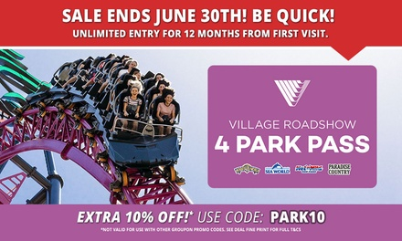 Village Roadshow Theme Parks In Oxenford Groupon