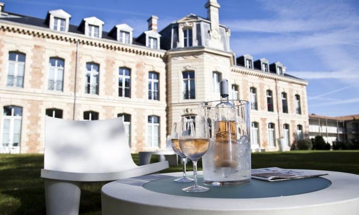 Spa Du Château - Lagord: Accès au spa avec déjeuner et verre de vin pour 1 ou 2 personnes, dès 29,90 € au Spa Du Château