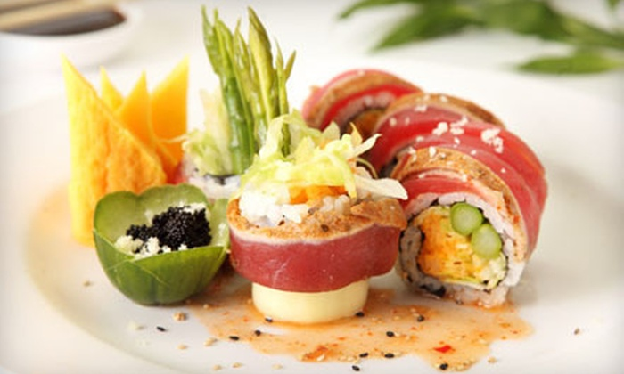 The Drunken Fish - Power & Light District: $15 for $30 Worth of Sushi and Japanese Food at The Drunken Fish