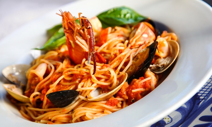 Vaiano Trattoria - Granite Bay: $10 for $20 Worth of Italian Food and Drinks, Valid Sunday through Thursday at Vaiano Trattoria