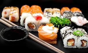 רשת הסושיה: רשת הסושיה מציעה ארוחה זוגית עם 40 יח' סושי כולל תפריט ספיישל ב-79 ₪ או מגש סושי למסיבות ב-199 ₪ במגוון סניפים בכל הארץ!