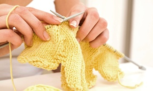 littlelamb and Ewe:  Three-Week Beginners' or Intermediate Knitting Course at littlelamb and Ewe (Up to 53% Off)
