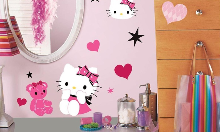 Hello Kitty Couture Wall Decals: Hello Kitty Couture Wall Decals
