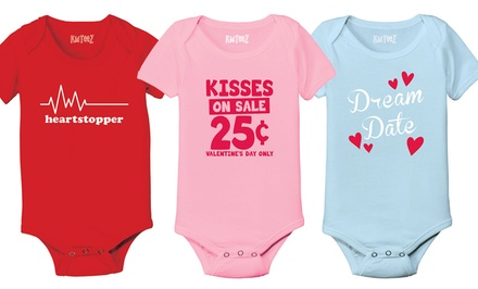 Kidteez Valentine's Day Infant Bodysuits