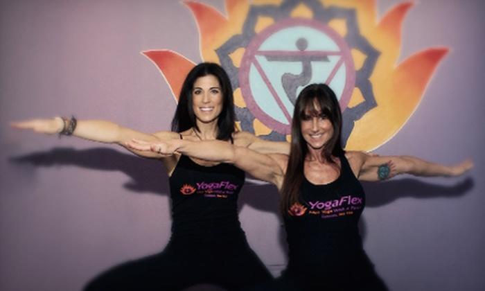 YogaFlex - Commack: $59 for 10 Hot-Yoga Classes at YogaFlex in Commack ($160 Value)