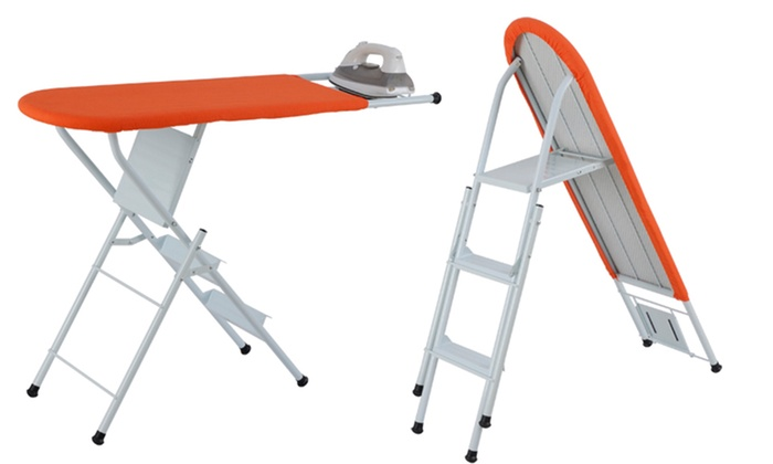 Ironing Board and Ladder Combo: Ironing Board and Ladder Combo. Free Returns.