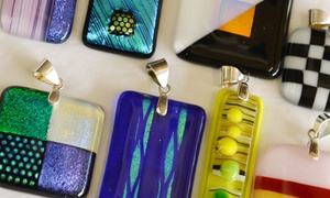 Glass Mosaic Canada: Glass Jewellery-Making Workshop for One, Two, or Four at Glass Mosaic Canada (Up to 52% Off)