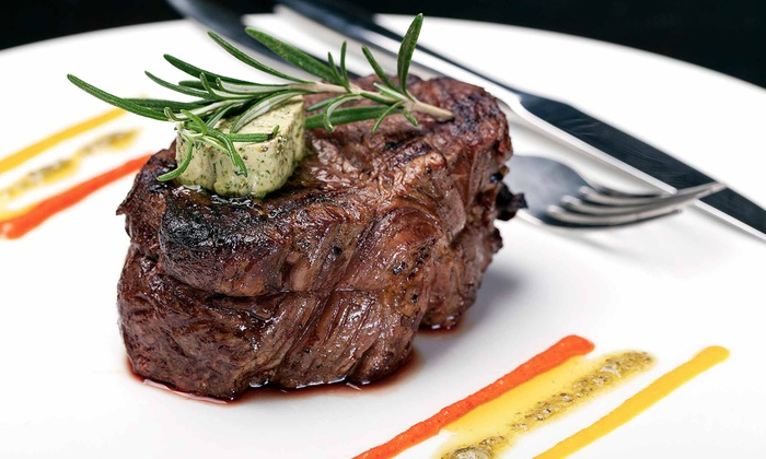 Parea  - Valparaiso: American Steak and Seafood for Up to Two or Four People at Parea (Up to 31% Off)