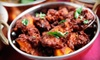 Vindu Indian Cuisine - North Dallas: $25 for a Pan-Indian Dinner with Appetizer and Dessert for Two at Vindu Indian Cuisine (Up to $49.96 Value)