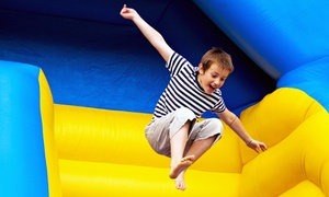 Celebration Kingdom: 5, 10, or 20 Indoor Playground Admissions at Celebration Kingdom (Up to 62% Off)