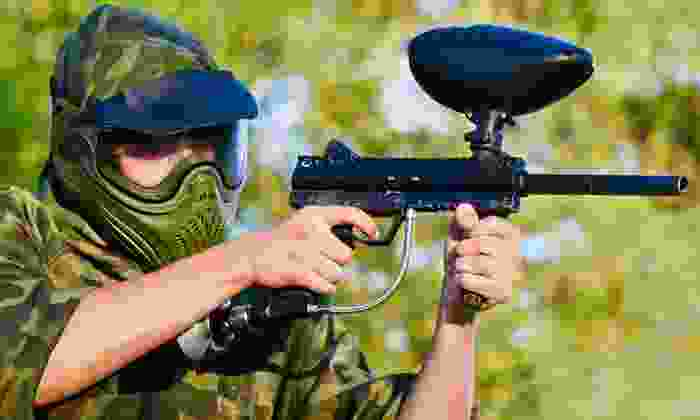 Gear-Up Paintball - Hammonton: All-Day Paintball Package for One, Two, or Four at Gear-Up Paintball (Up to 59% Off)