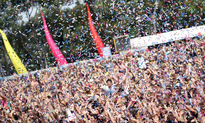 The Confetti Run - Mesa Riverview: One or Two Entries to the Confetti Run 5K on Saturday, April 25 (Up to 59% Off)