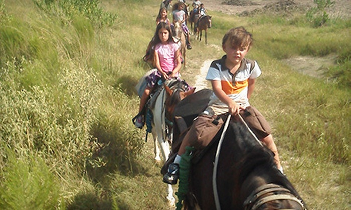 Loveland Ranch - Southeast Montgomery: $49 for a Four-Hour Horse Camp for Two Children at Loveland Ranch ($100 Value)