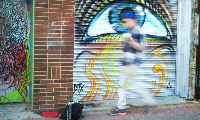 Learn Graffiti Art with a Pro - Deep Ellum: Visit Graffiti Art and Create a Street Stencil with a Pro