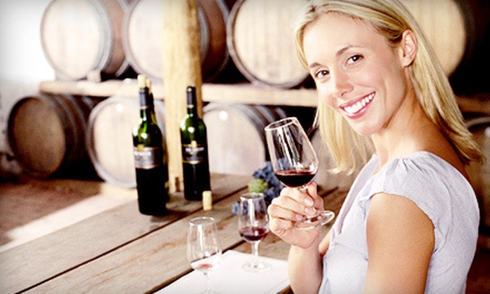 Santa Cruz Mountain Vineyard & Quinta Cruz - Westside: Wine Tasting for Two on April 27 or 28 with Option for Take-Home Bottle at Santa Cruz Mountain Vineyard (Up to 54% Off)