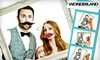 The Wonderland Group - Orange County: $475 for Three-Hour Photo-Booth Rental with Video Feature and Unlimited Prints from The Wonderland Group ($1,999 Value)