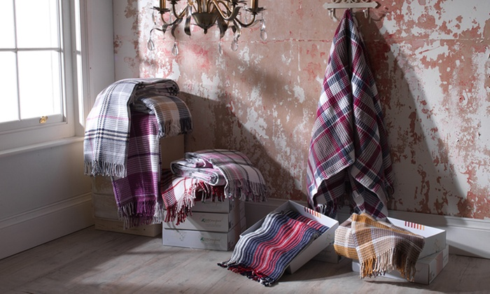 Gift Boxed Cotton Rich Throws from £16