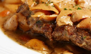 Café Trastevere: $18 for $30 Worth of Italian Cuisine and Drinks for Two or More People at Café Trastevere