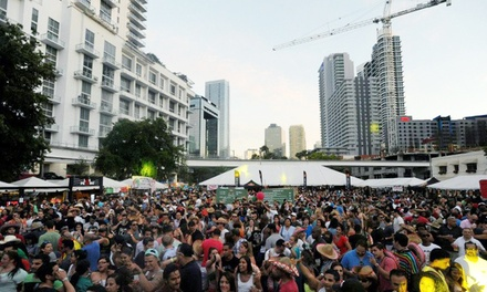 One-Day General or VIP Admission, or Weekend VIP Pass to Cinco De Mayo Brickell Fiesta on May 4 and 5 (Up to 50% of)