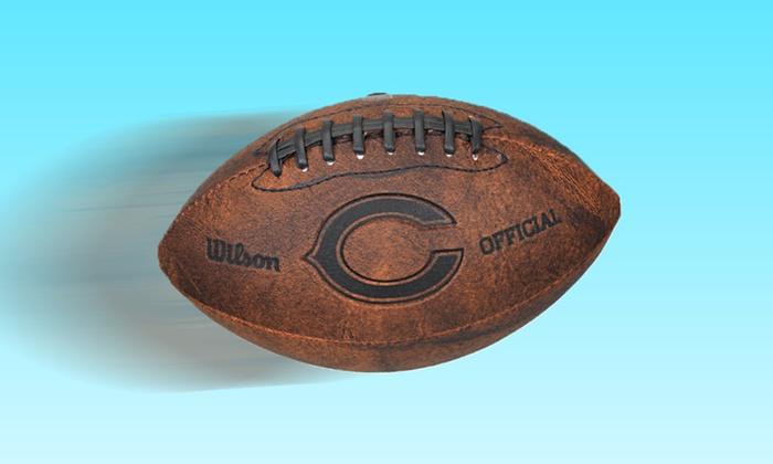 "Wilson NFL Throwback Football: Wilson 9"" NFL Throwback Football. Multiple Teams Available. Free Returns."